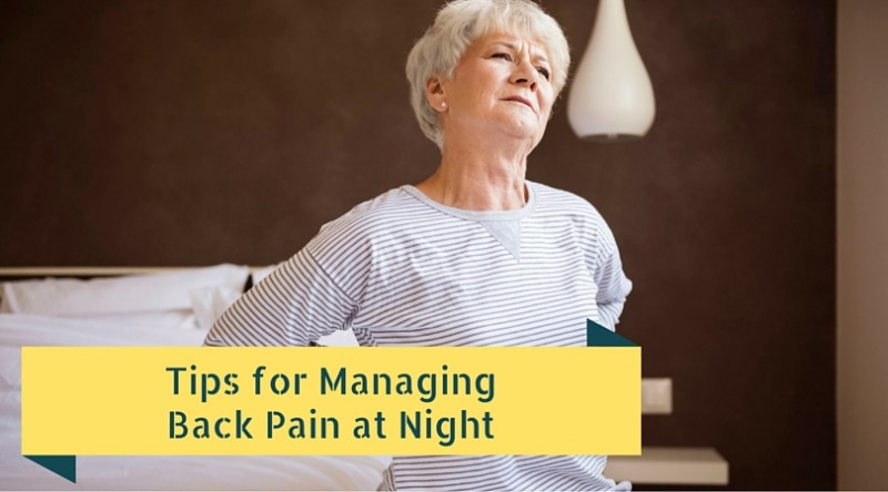 tips for managing back pain at night twin cities spine With back pain at night