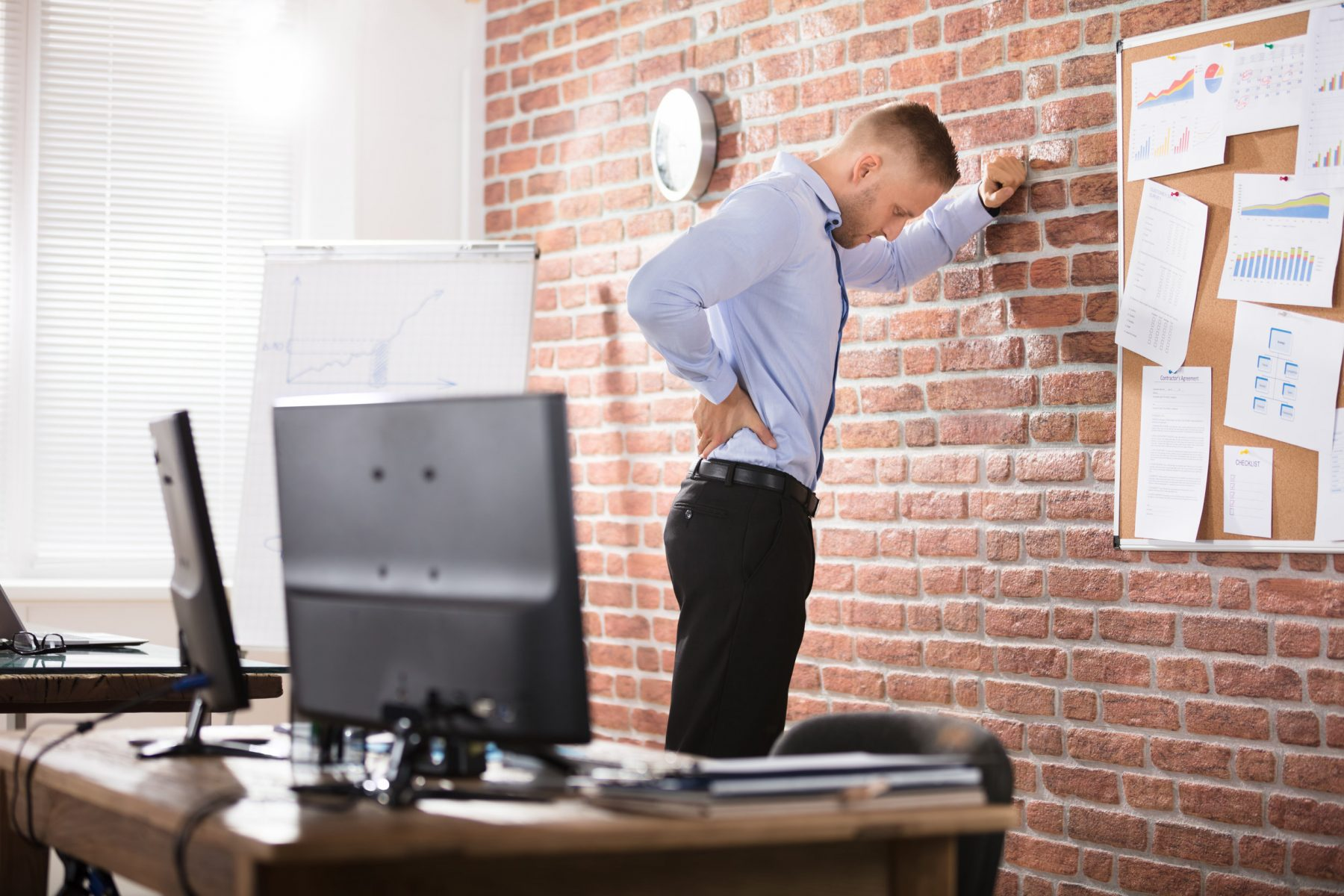 Standing Back Pain